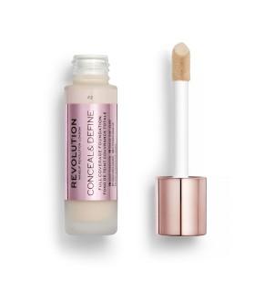 Makeup Revolution Conceal & Define Foundation - F2