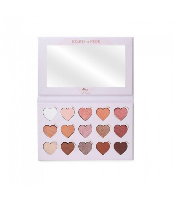 Hearts of Nude Palette With Love Cosmetics