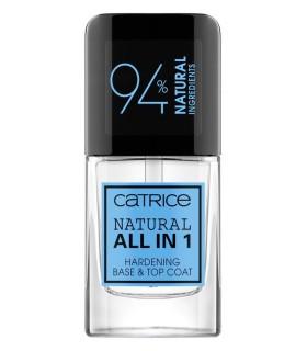 Catr. Natural All in 1 Endurecedor, Base & Top Coat