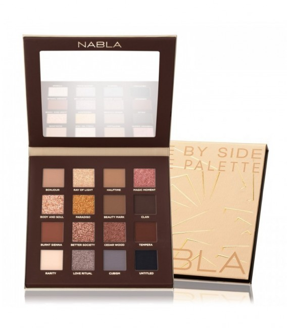 Nabla Side By Side Nude Palette