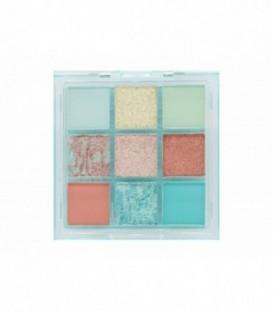 W7 SOFT HUES Pressed Pigment Palettte - Aquamarine