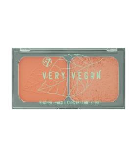 W7 Very Vegan Blusher Duo - Sweet Pea