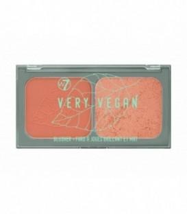 W7 Very Vegan Blusher Duo - Plumeria