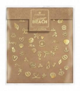 ess. Vintage BEACH pegatinas de uñas 01