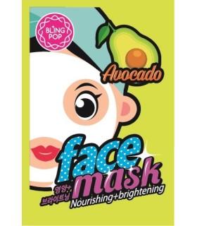 Sachet Mascarilla nutritiva e iluminadora de aguacate BLING POP