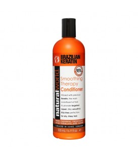 BRAZILIAN KERATIN OIL SMOOTHING THERAPY CONDITIONER 500ML NATURAL WORLD
