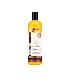 CHIA SEED OIL VOLUME & SHINE CONDITIONER 500ML NATURAL WORLD