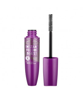 ess. instant volume boost mascara smudge-proof and intense black