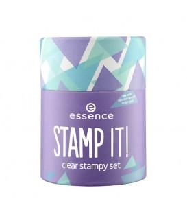 ess. stamp it! set stampy transparente