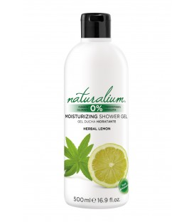 BATH AND SHOWER GEL - HERBAL LEMON - NATURALIUM