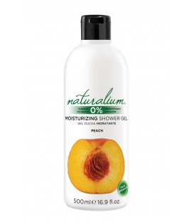 BATH AND SHOWER GEL - PEACH - NATURALIUM